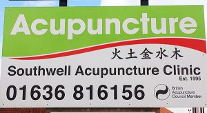 southwell-acupuncture-sign