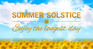 Summer Solstice Day - Southwell Acupuncture Blog